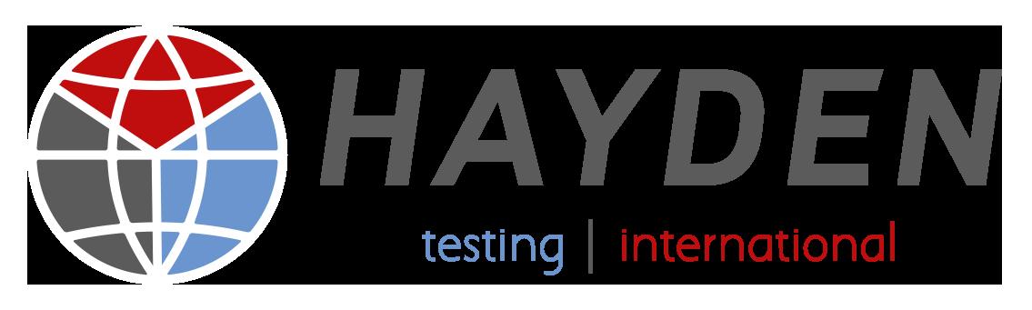 HAYDEN Testing logo
