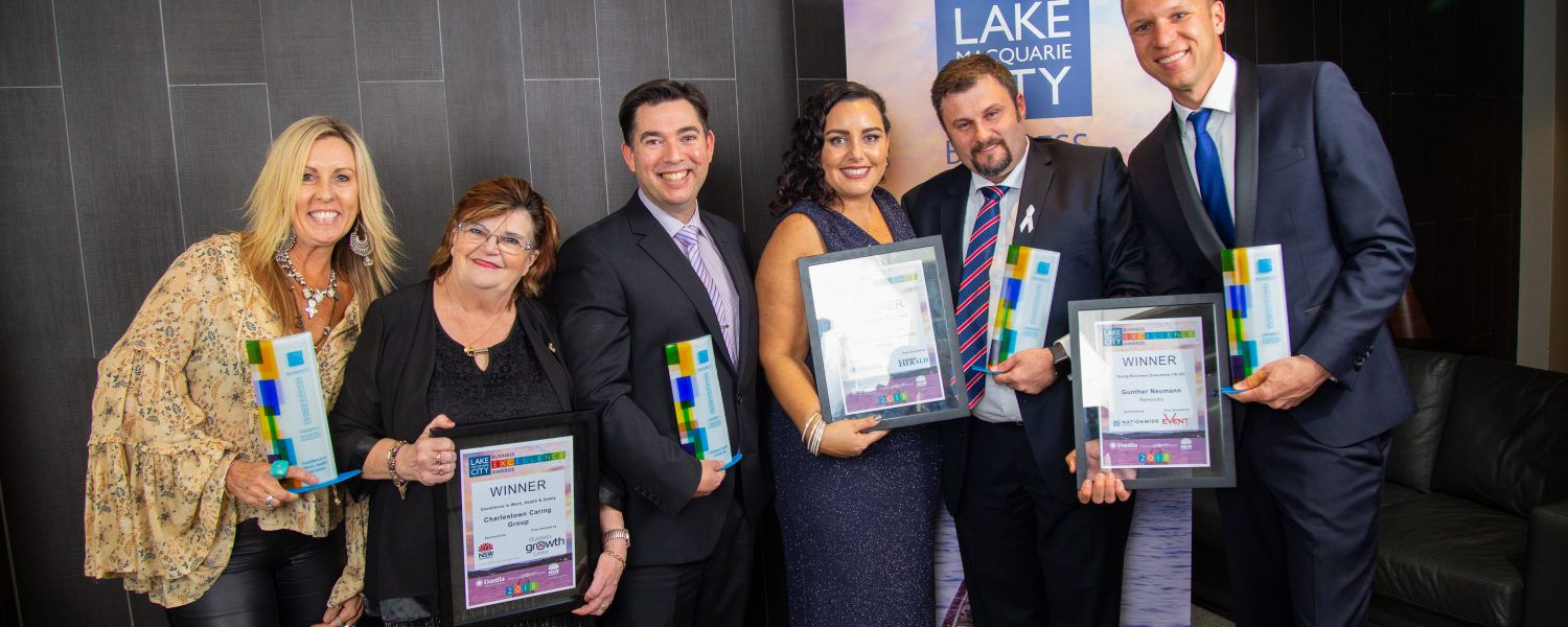 Let's celebrate individual and business accomplishments in Lake Macquarie City